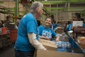 Photo from the Houston Food Bank