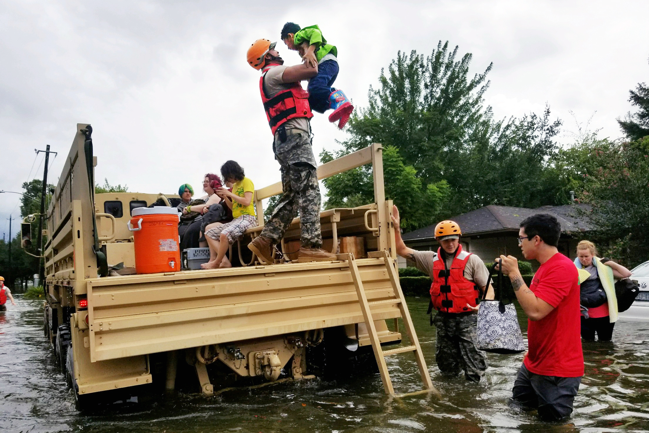 Hurricane Harvey PTSMC relief fundraiser