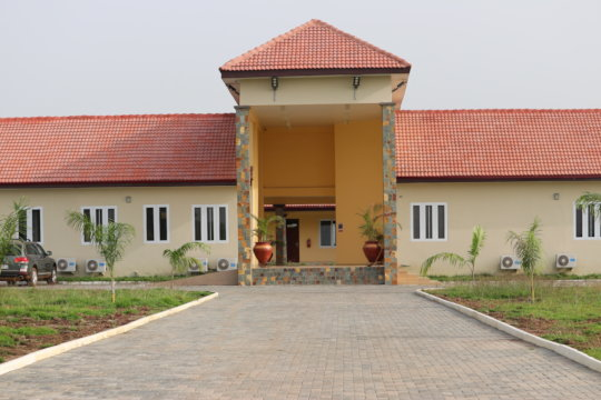 Front View of Palm New Campus