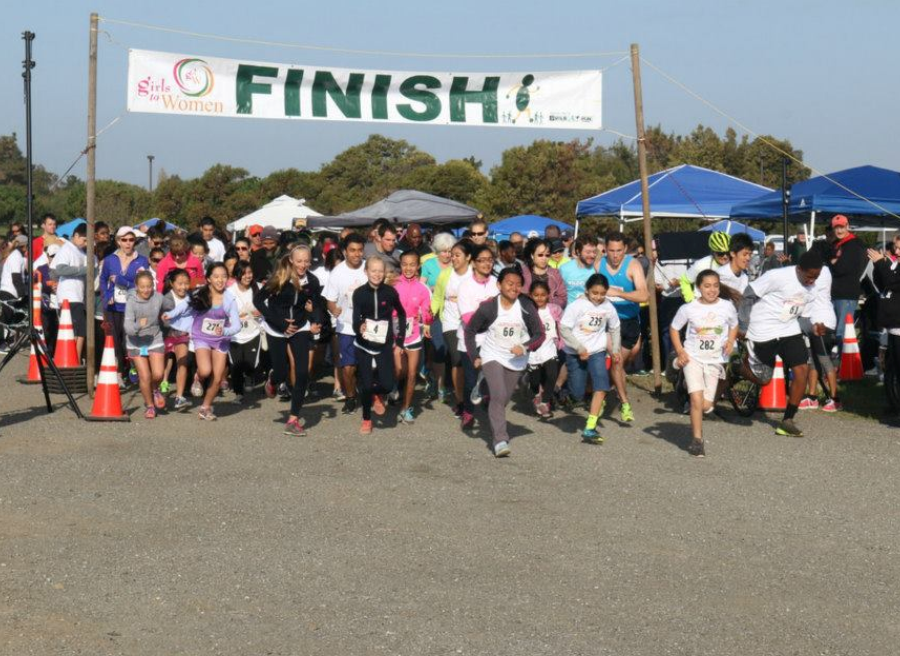 Our 5th Annual community Fun Run takes off!