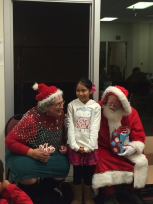 Santa & Mrs. Klaus joined our Holiday Party!