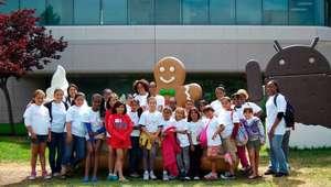 g2W Summer Participants at Google Headquarters