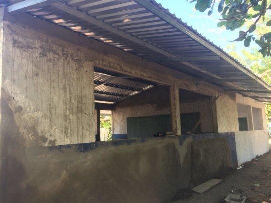 Concrete repair work