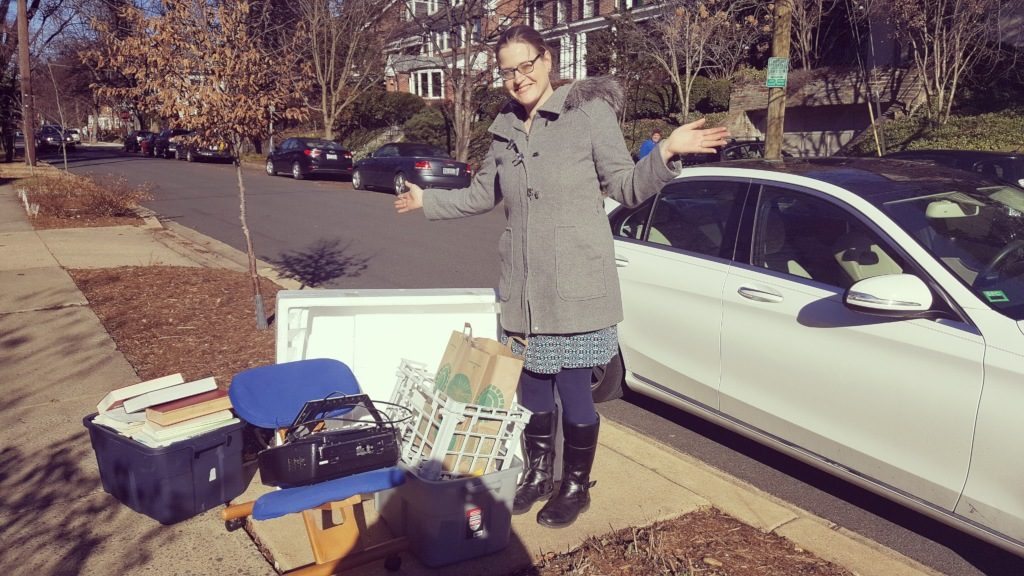 DC TimeBank exchange with Caitlin Jan 2018