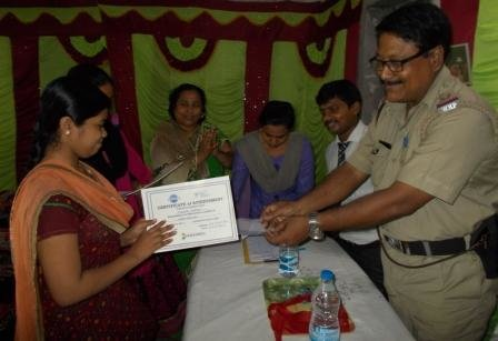 Certificates To The Successful Trainees