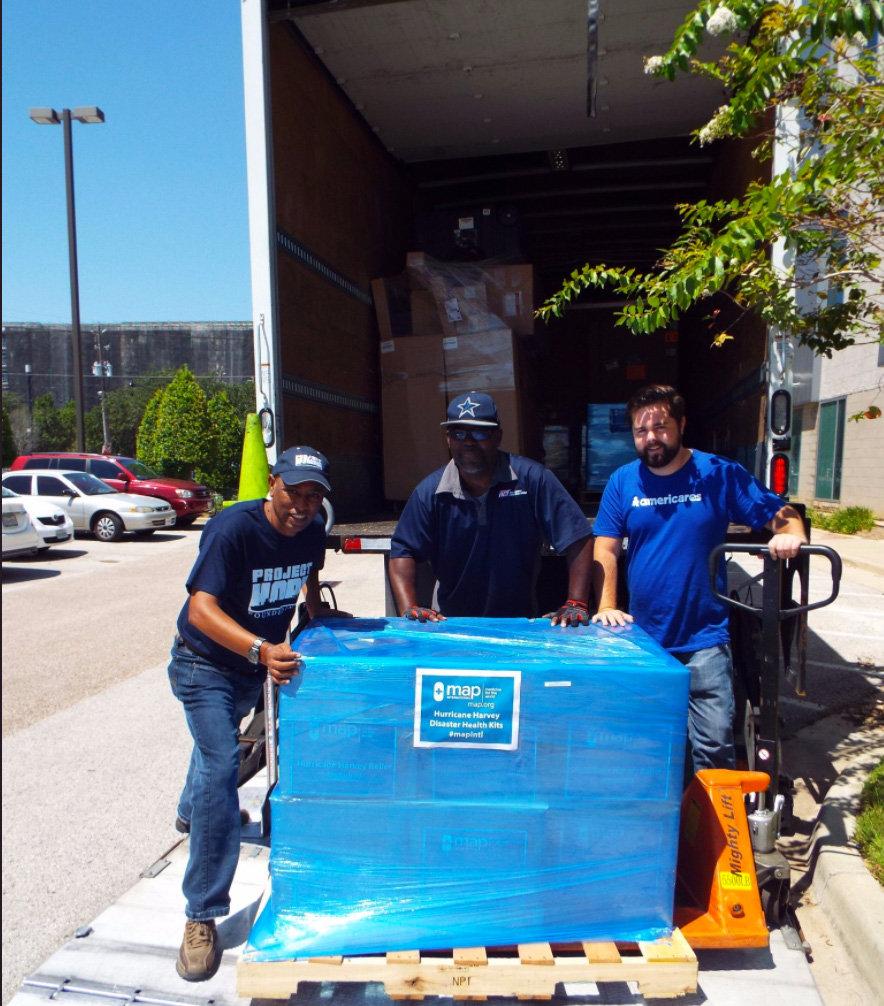 Provide Disaster Health Kits for Harvey Survivors