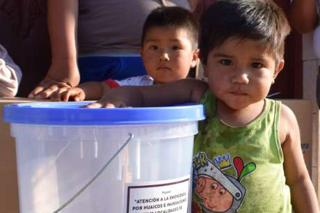 Equipping 25 Houses After Emergency in Huarmey