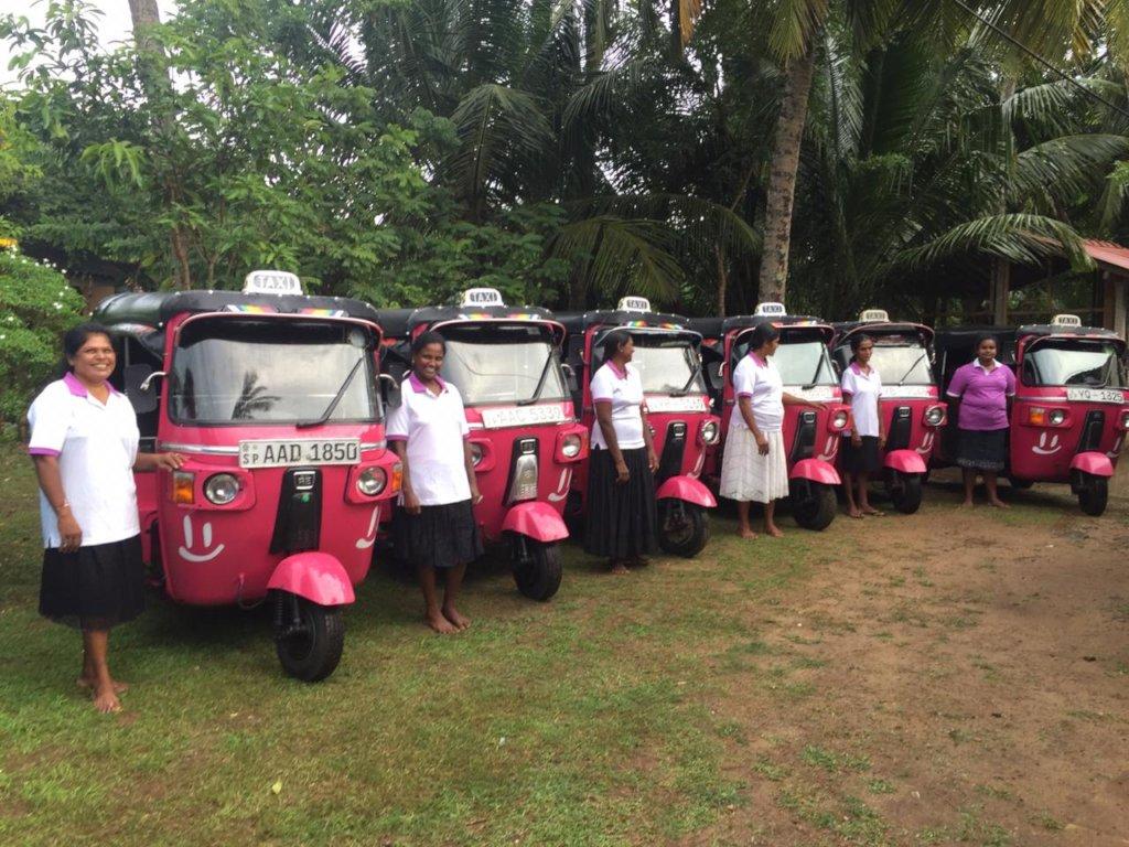 Think pink Sri Lanka - women driving for women