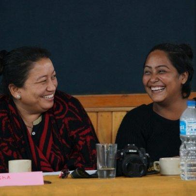 Rajya Laxmi and Romi