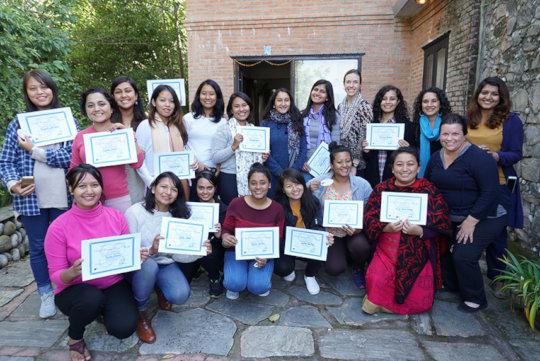Reel Women Real Change Graduation