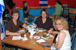 Authentic Nicaraguan food, giving a small taste of Nicaragua