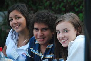 Grace, Alvero, and Nicole