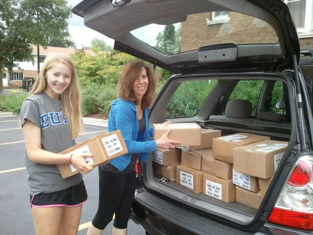 Books arrive to Nelson Hall