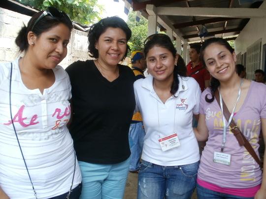 long time volunteers!