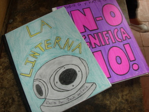 Library books created by American students