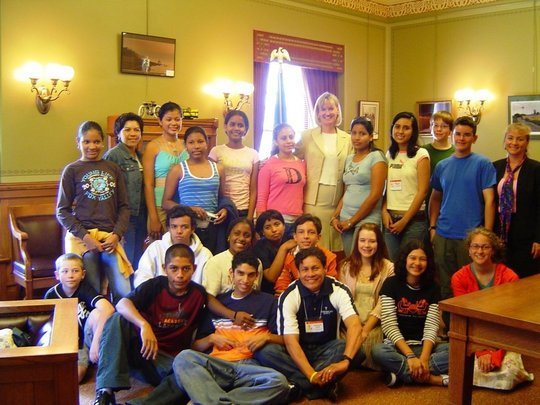 Latin American common interests with Lt Gov Lawton