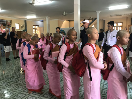 Some of our PFK cherubs in Myanmar