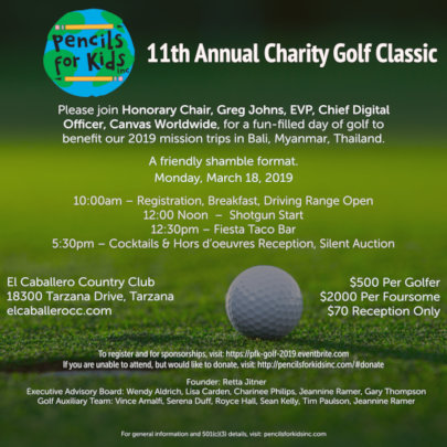 PFK's 11th Annual Charity Golf Classic in LA!