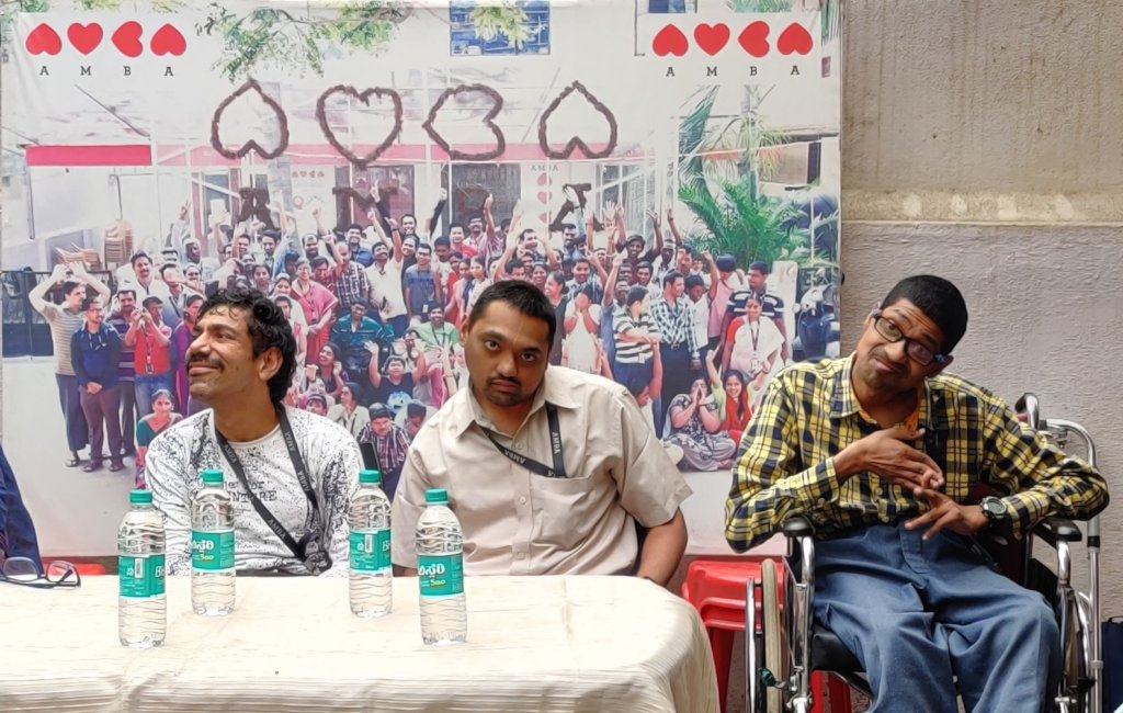 Sachin, Harsha and Prakash as Guests for an event