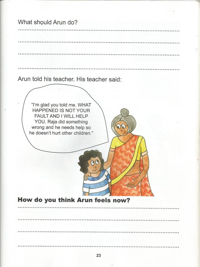 STOP Child Sexual Abuse in India through Education