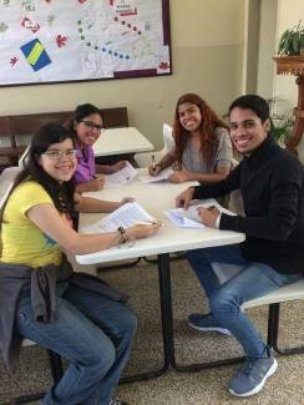 Students signing agreements