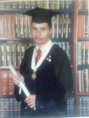 My College graduation picture in 2005