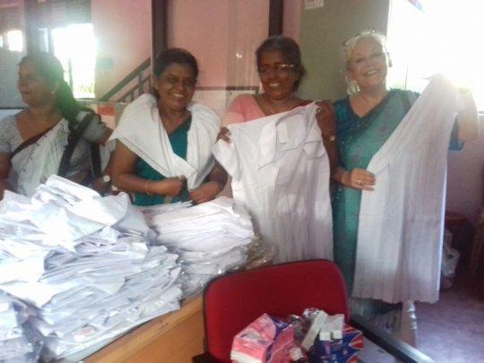 School & Prayer Sari's