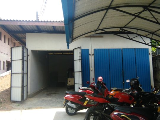 The new bakery building