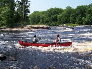 Challenge yourself with whitewater.