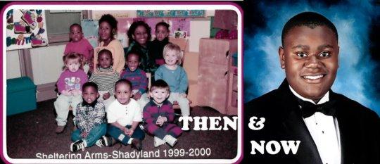 Rashad Then & Now - Alumni Success
