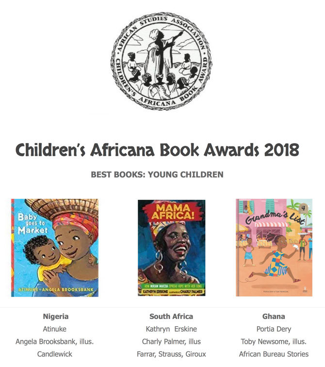 CABA announces 2018's Best Book for Young Children