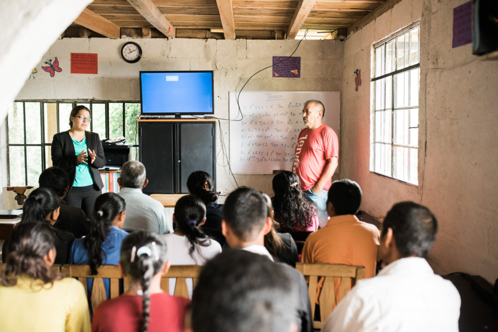 Empower Students in the Coffee Village of Joconal