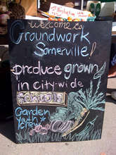 Grown in Somerville Sign