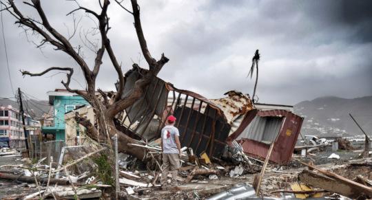 2017 - Hurricane Irma hits the BVIs