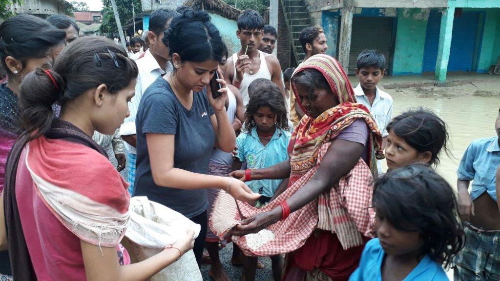 Help SinghBahini flood victims & their children