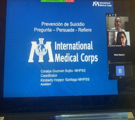 Coralys and our MHPSS team host an online webinar.