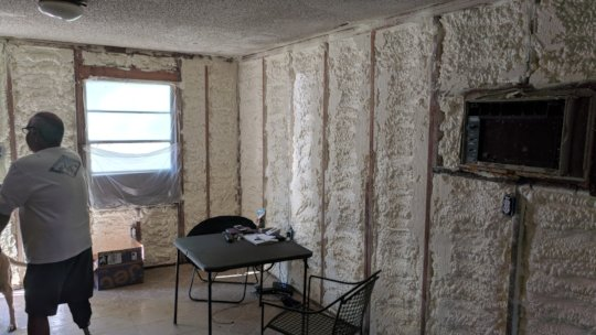 This home also restored with drywall & insulation