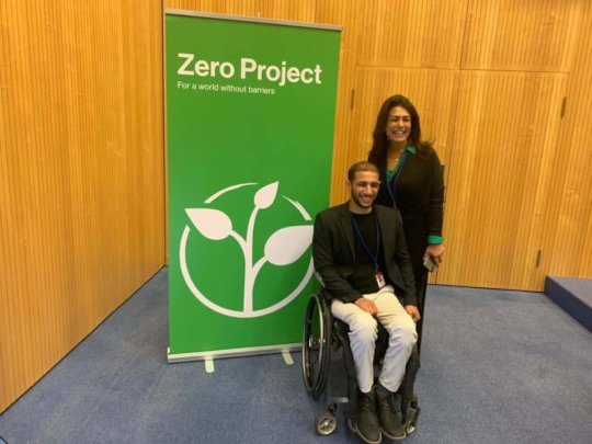 May and Alhassan in Zero Conference 2020