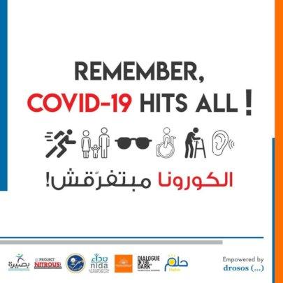 """Remember, COVID-19 Hits All"" Campaign"