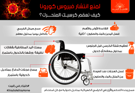Tips on How to Keep the Wheelchair Clean
