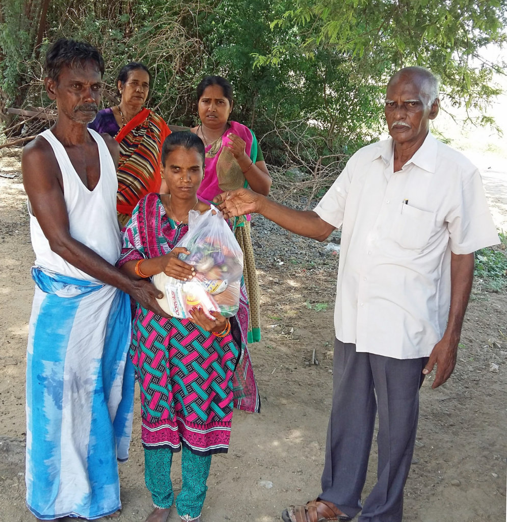 Blind Girl Need Food Support and Care for 1 Year