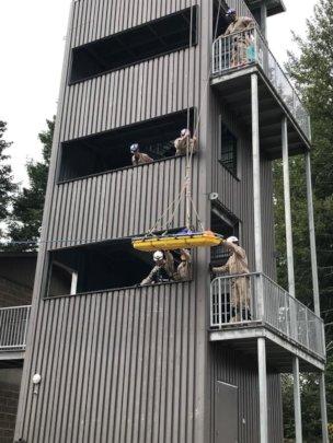 Multi-Unit Rope Rescue Training