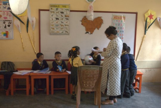 Children learn in safety and warmth at ITBCI