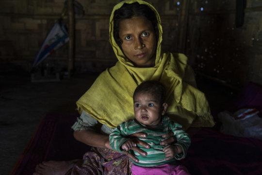 Reshma, a refugee. By: Abir Abdullah (Concern)