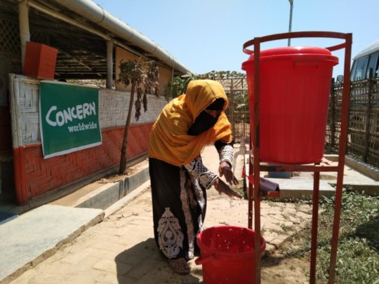 Handwashing in Cox's Bazar