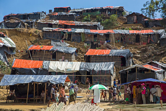 Dwellings vulnerable to natural disaster