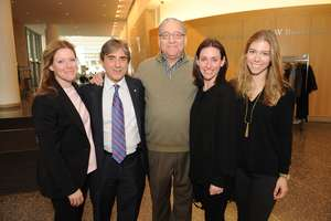 Dr. Vassilopoulos' reception at Northwestern