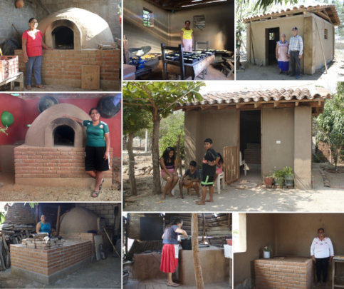 Kitchens, ovens and comixcales in 3 communities