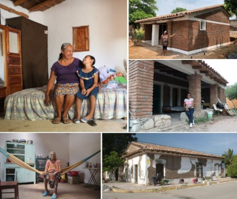 Reconstruction of 57 houses in Ixtepec