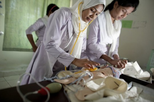 HOPE Foundation's Midwifery training program